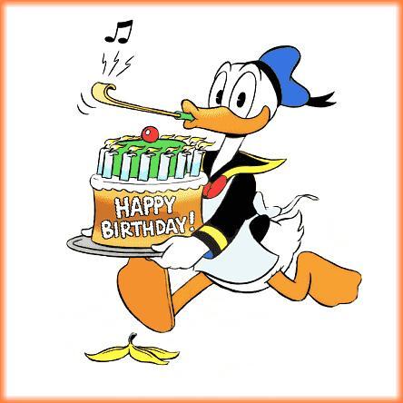 Donald Duck Geburtstag